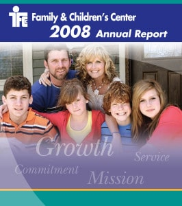 2008 annual report cover image